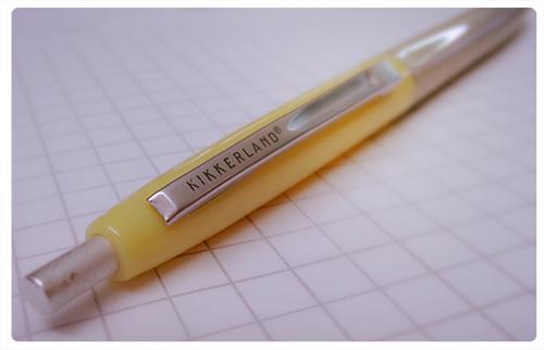Kikkerland Retro Pens