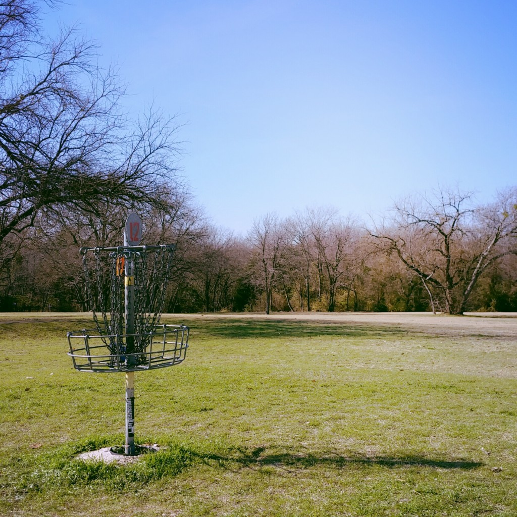 B. B. Owen Disc Golf Course (about a 7 minute drive from my office)